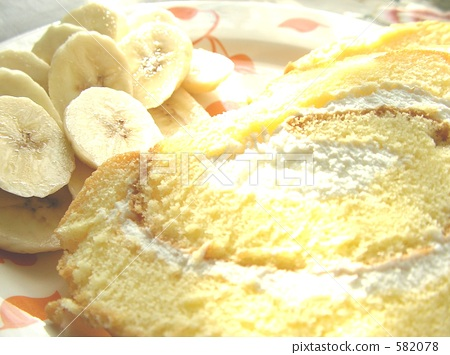 jelly roll, roll cake, swiss roll 582078