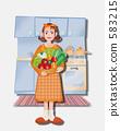 女性生活方式(廚房) 583215
