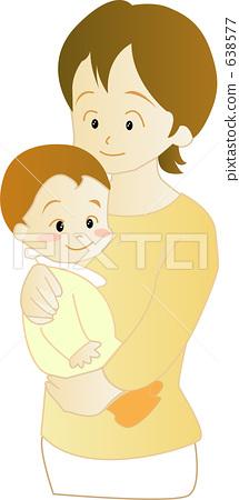 아기와 엄마 638577