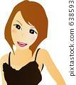 女性的插圖 638593