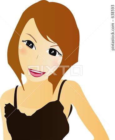 Female illustration 638593
