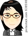 여성 비즈니스 우먼 638598