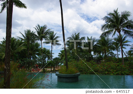 Outrigger hotel pool in Guam 645517