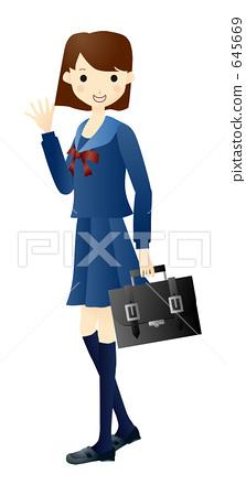 Student in school 645669