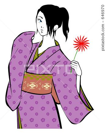 Kimono retro 646970