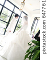 婚礼 新郎新娘 结婚礼服 647761