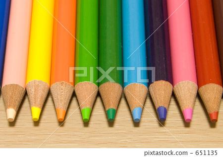 ดินสอสี,ดินสอ,เครื่องเขียน 651135