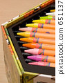 crayon, crayons, stationery 651137