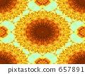 Theory of sunflower evolution 657891