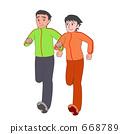 쌍으로 달리기 668789
