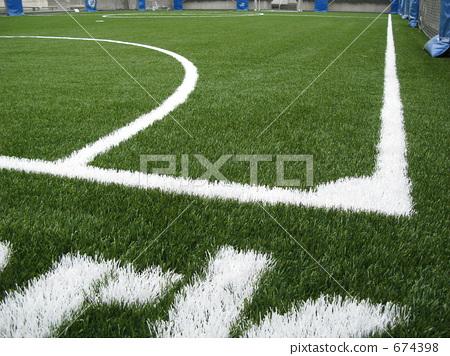 Futsal court (corner) 674398