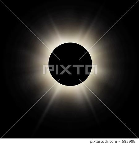 Total solar eclipse total solar eclipse universe Taiyo dark 683989