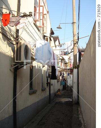 The back street of Shanghai 713029