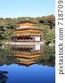 Kinkakuji Temple, kinkakuji, pond 718709