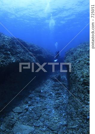 ทางเดินใต้น้ำ 725051