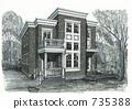 housing, residence, residential 735388