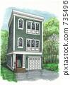housing, residence, residential 735496