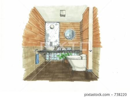 washroom, restroom, toilet 738220