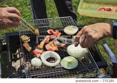 BBQ 烤肉 烧烤 755180