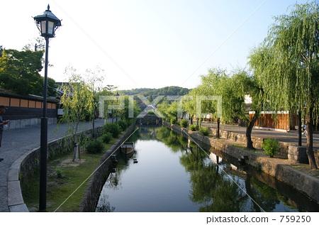 oharatei, waterway, kurashikigawa 759250