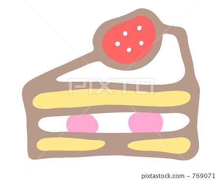 Handwritten illustration * Short cake 769071