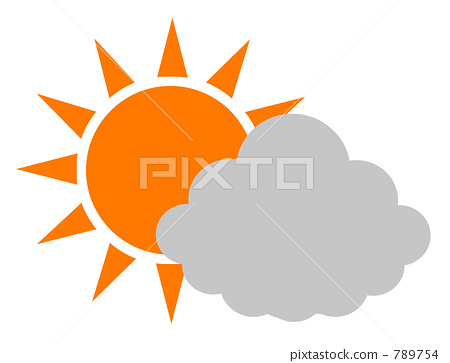 Sunny and cloudy 789754