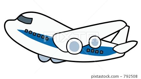 Ť�型喷气式客机 ɣ�机 Ů�用飞机 ś�库插图 792508 Pixta