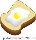 eggs, sunny, side 799306