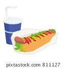 hot, dog, hot-dog 811127