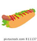 hot, dog, hot-dog 811137