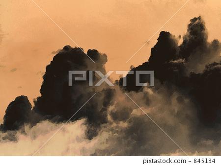 Suiboku cloud 845134