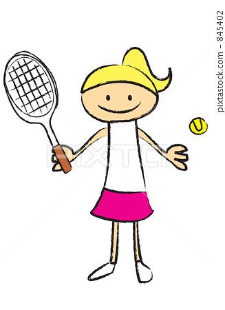 테니스 845402