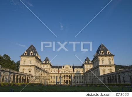 Turin Valentino Castle (Front) 872033