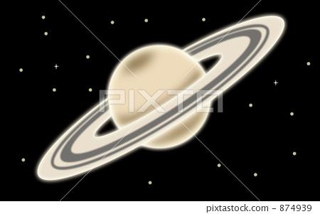 Saturn illustration (normal version) 874939