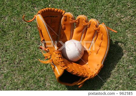 棒球 手套 球 962585