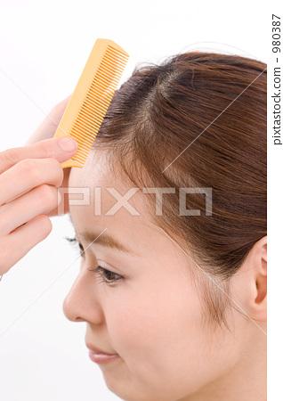 Hair makeup 980387