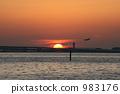 sunset, sunsets, kaizuka city 983176