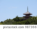 塔 寺 寺廟 987366