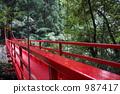 紅色橋樑 高架橋 樹木 987417