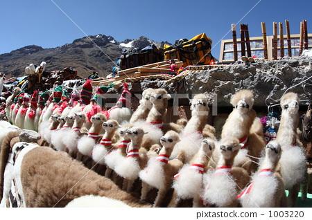 南美洲秘魯紀念品羊駝娃娃 1003220