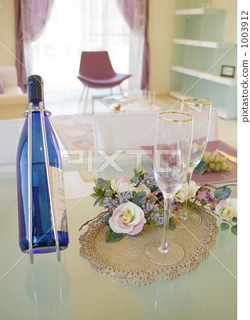 dining, dining room, wine bottle 1003912