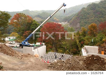 Construction of Yatta Dam 1026764