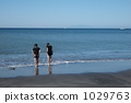 海岸 三浦半島 在水里玩 1029763
