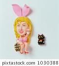 兔女郎 招財貓 兔子 1030388