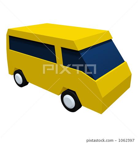 Light car (wagon · yellow) 1062397