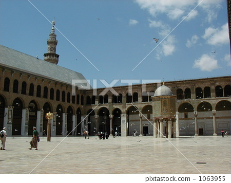 umayyad mosque, syria, world heritage 1063955
