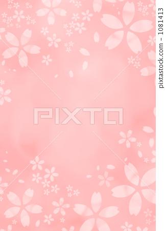 벚꽃 피는 흰색 a 1081413