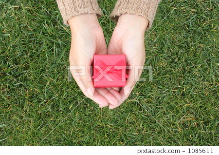 A gift of a red box (sideways) 1085611