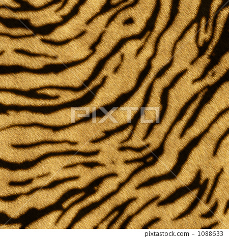 Ultra high resolution real CG that can be used from tiger pattern live photo 1088633