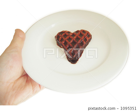 Handmade waffles with love 1095351